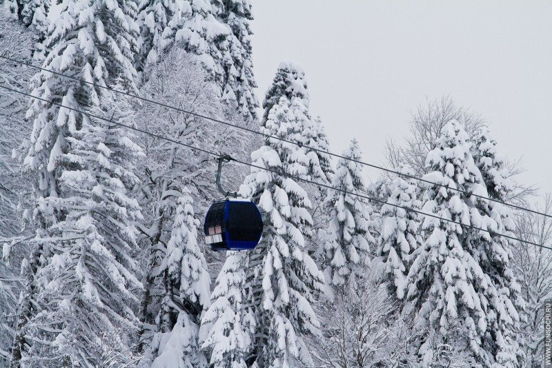 Тестовое открытие горнолыжного сезона 2017 на ГТЦ Газпром, Красная Поляна