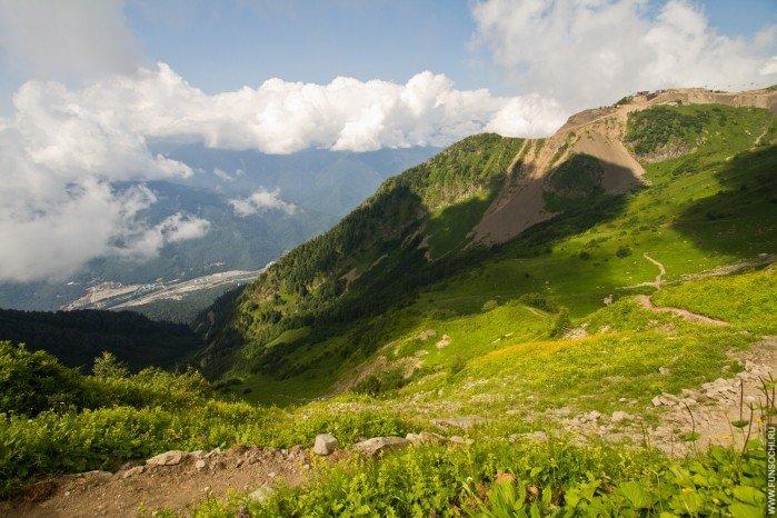 Тропа «Альпийские луга», Красная Поляна